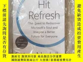 二手書博民逛書店Hit罕見Refresh: A Memoir by Micros