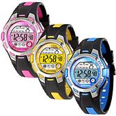 [EYE DC] JAGA 捷卡 M998 霓虹俏麗多功能電子錶 女錶/男錶/中性錶/手錶 藍色夜光 (兩色可選)