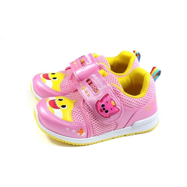 碰碰狐 鯊魚寶寶 BABY SHARK 休閒運動鞋 粉紅色 中童 童鞋 PIKX96603 no878