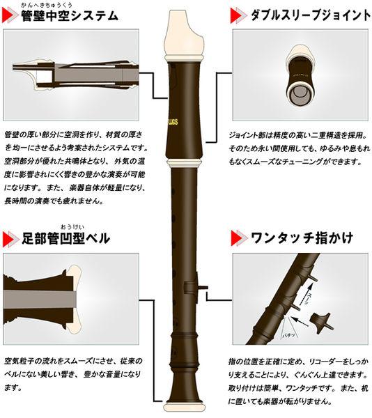 小叮噹的店-日製 ALOUS 503B 高音直笛