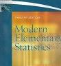 二手書R2YBb《Modern Elementary Statistics 12