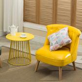 單人沙發簡約現代懶人陽台臥室客廳咖啡廳小沙發美式北歐沙發xw