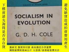 二手書博民逛書店SOCIALISM罕見IN EVOLUTION 英國大史家 科爾