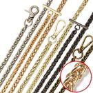 推薦包包帶子肩帶包包鏈條配件帶鐵單肩斜挎背包帶金屬鏈條包鏈子百搭推薦