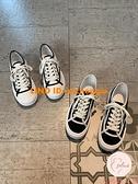 休閑鞋帆布鞋百搭厚底防滑運動小白鞋夏季百搭【大碼百分百】