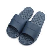 COQUI 活力按摩室內拖鞋 深藍 M91 男鞋 鞋全家福
