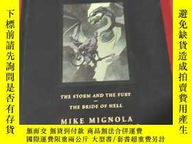 二手書博民逛書店Hellboy罕見Library Edition Volume 6: The Storm And The Fury