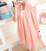 圍巾【TAF002】抗UV棉絲巾 123ok