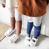 可愛小熊圖案兩色長褲 童裝 褲子