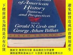 二手書博民逛書店Interpretations罕見of American His