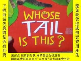 二手書博民逛書店Whose罕見Tail Is This?Y15389 Belmo