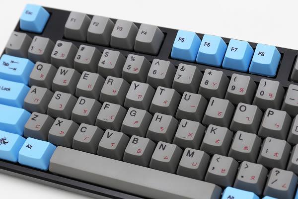 [ PC PARTY ] 創傑 Ducky One PBT熱昇華 機械式鍵盤 藍灰 白藍 CHERRY 綠軸 奶軸