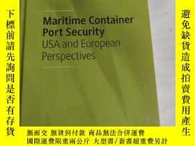 二手書博民逛書店Maritime罕見Container Port Securit