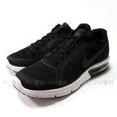 男款NIKE AIR MAX SEQUENT 氣墊慢跑鞋《7+1童鞋》D847黑色