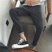 韓國風~原創春夏新款青年韓版寬鬆休閒牛仔褲百搭男士長褲子
