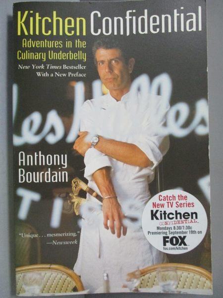 【書寶二手書T4/原文書_NQW】Kitchen Confidential-Adventures in the Culi