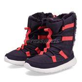 【四折特賣】Nike 休閒鞋 Roshe One Hi PSV 紫 紅 休閒鞋 童鞋 中童鞋【PUMP306】 807759-501