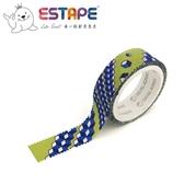 【ESTAPE】幾何系列裝飾膠帶-四方體款(手帳/裝飾/拼貼/標籤/重複貼黏)