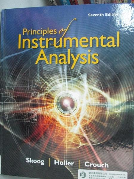 【書寶二手書T2/大學理工醫_ZKG】Principles of Instrumental Analysis_Skoog