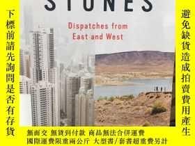 二手書博民逛書店Strange罕見stones dispatches from East and West by Peter He