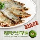 【屏聚美食】鮮美大草蝦(8尾/約380g)_第2件以上每件↘333元