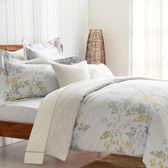 【Cozy inn】雨露-200織精梳棉四件式兩用被床包組(雙人)