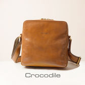 Crocodile Naturale Collection 2.0 直式斜背包0104-07701