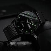 手錶 新概念超薄瑞士手錶男潮流學生機械防水夜光石英男士手錶2019新款 米娜小鋪