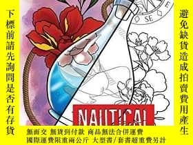 二手書博民逛書店Tattoo-Style罕見nautical coloring bookY360448 Clinton Bar