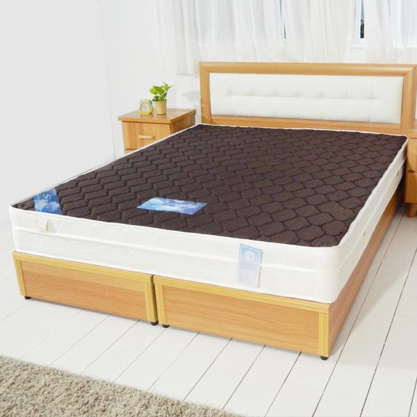 床墊【時尚屋】3尺英式經典雙色三線獨立筒彈簧床墊GA15-3台灣製/免組裝/免運費