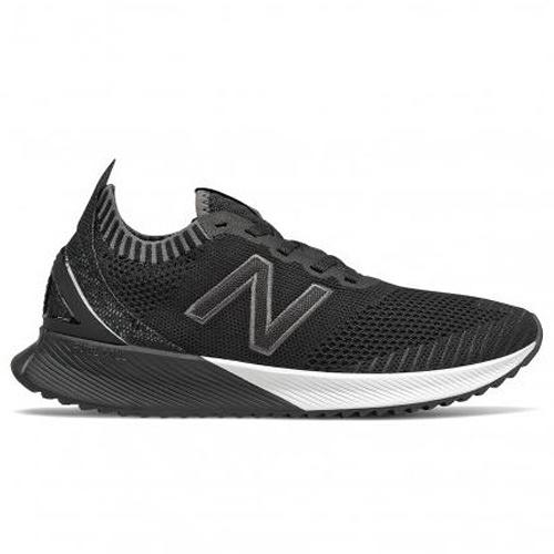 New Balance 女鞋 慢跑 ECHO 針織 耐磨 能量回饋 黑 白【運動世界】WFCECSK