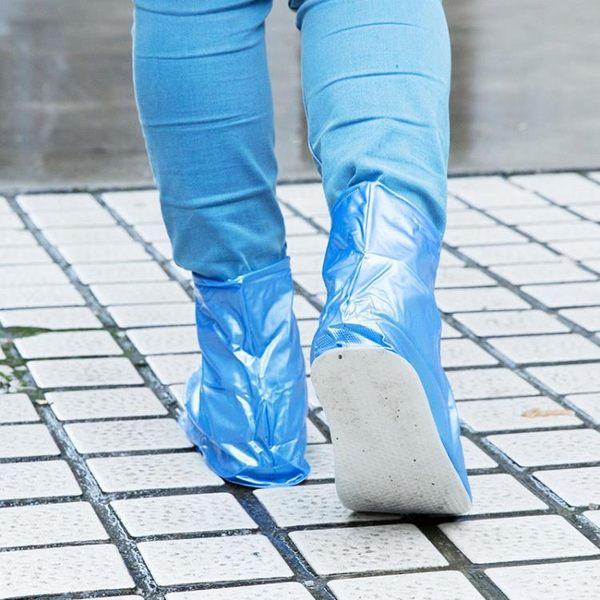 [超豐國際]雨天防水鞋套戶外防滑雨鞋套 學生兒童防雨鞋套加厚防雨
