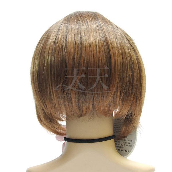 【旁分.斜瀏海不對稱短髮造型】全頂假髮 (化纖) 856 #2/30 [92986]