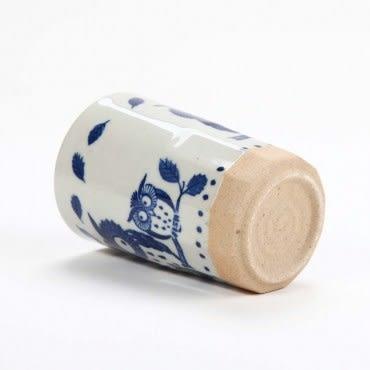 日本長湯杯 貓頭鷹 300cc