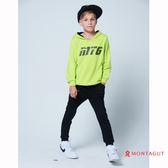 童裝男童休閒連帽T恤 夢特嬌 綠色字母款 150-170cm