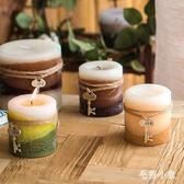 復古鑰匙工藝香薰裝飾蠟燭  美歐式天然環保大號款 BS21673『毛菇小象』