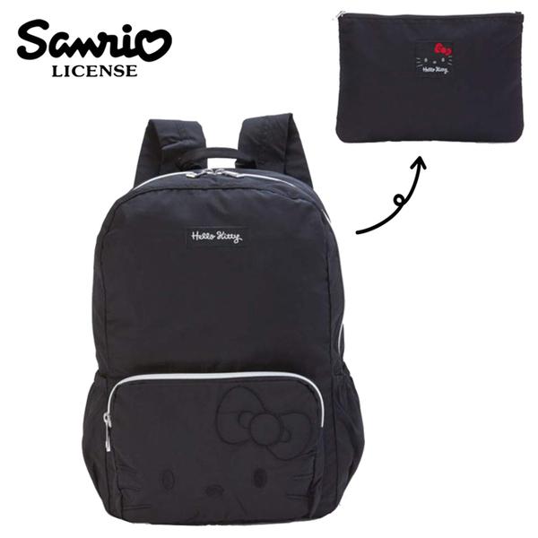 【日本正版】凱蒂貓 摺疊 後背包 背包 輕便後背包 Hello Kitty 三麗鷗 Sanrio - 642771
