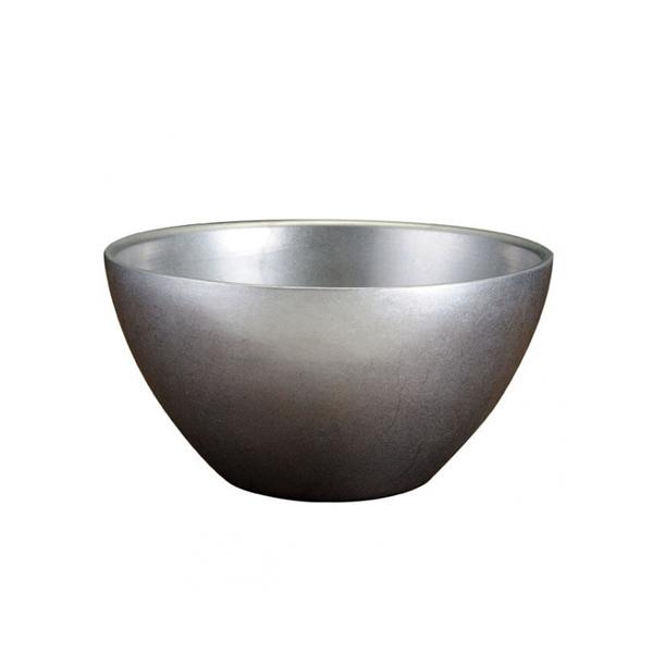 日本 AOYOSHI 青芳製作所 仿舊雙層不銹鋼碗19cm