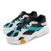 Reebok 復古慢跑鞋 Aztrek Double 93 黑 綠 麂皮鞋面 老爹鞋 運動鞋 女鞋【PUMP306】 DV5387