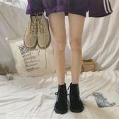 短靴ins馬丁靴女新款秋季英倫風韓版百搭學生chic短筒網紅小短靴 新年鉅惠