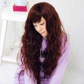 假髮(長髮)-時尚氣質捲髮斜瀏海女配件4色73fi34{時尚巴黎]