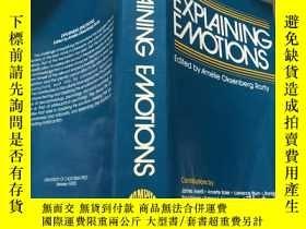 二手書博民逛書店Explaining罕見Emotions (Topics in