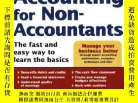 二手書博民逛書店Accounting罕見For Non-accountantsY256260 Wayne Label Sour