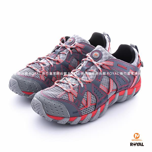 MERRELL 新竹皇家 FOLKSTONE 藍/粉 水陸兩棲 運動鞋 女款 NO.I7554