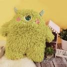 小怪獸抱枕可愛毛絨公仔床上超軟睡覺玩偶男女孩玩具兒童生日禮品 小時光生活館