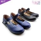 包鞋.可愛舒適平底MIT瑪莉珍娃娃鞋.黑...