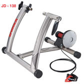 *阿亮單車*TranzX 專業無聲自行車訓練台,鋁合金(JD-138),五段阻力可調整《B85-483》