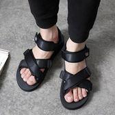 夏季越南涼鞋 沙灘休閒鞋 魔術貼涼拖鞋《印象精品》q298