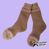 【PolarStar】羊毛保暖雪襪『棕色』P18609 露營.戶外.登山.保暖襪.彈性襪.休閒襪.長筒襪.襪子