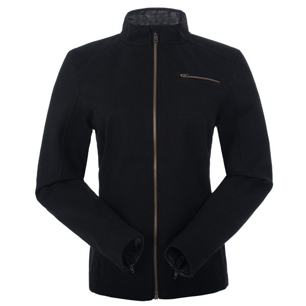 【聖伯納St. Bonalt】女-短版英倫風時尚防水機能風衣(0176)-黑 防寒外套 保暖 登山 戶外 防風